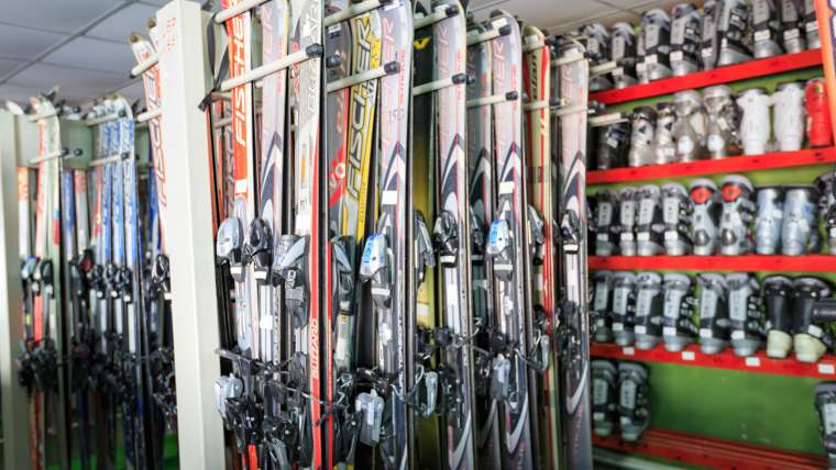 Kayak ekipmanları Funpark'da