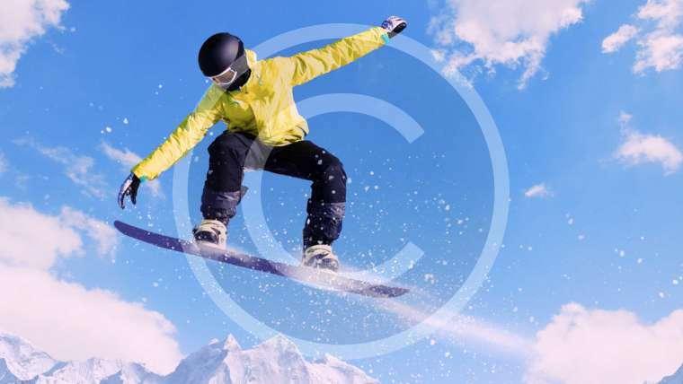 Snowboard burada yapılır
